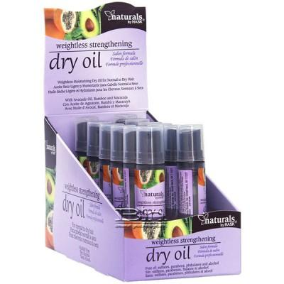 Hask Naturals Weightless Strengthening Dry Oil 0.5oz X 12pcs