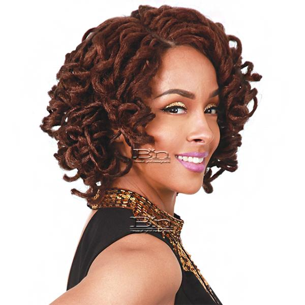 Zury Sis Synthetic Hair Faux Locs Swiss Lace Front Wig - LOC LACE BELLA