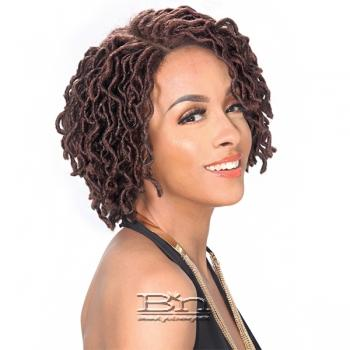 Zury Sis Synthetic Hair Faux Locs Swiss Lace Front Wig - LOC LACE WELLA