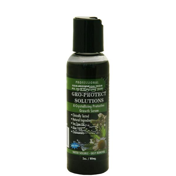 Morning Glory Gro-Protect Solutions a Crystallizing Protective Growth Serum (Black Berry) 2oz