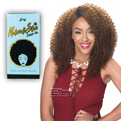 Zury Sis Naturali Star Sew In 100% Human Hair Weave - 3C CURLY 14