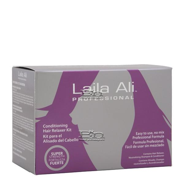 Laila Ali Professional Conditioning Hair Relaxer Kit - Super Strength