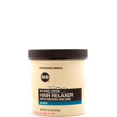 TCB No Base Creme Hair Relaxer (Super) 15oz