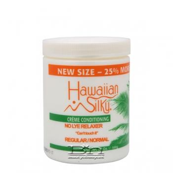 Hawaiian Silky Creme Conditioning No Lye Relaxer - Regular 20oz