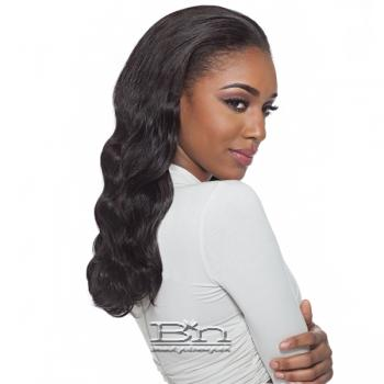 Outre Simply 100% Non-processed Brazilian Virgin Remy Human Hair Half Wig - NATURAL WAVE