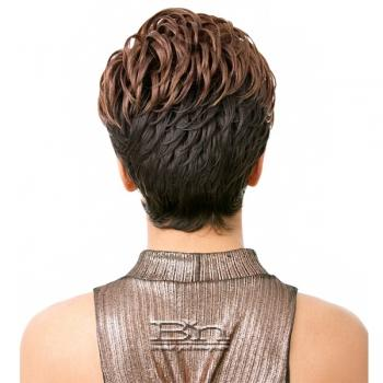 It's a wig Synthetic Wig - JOO (Real Hair Line Part)