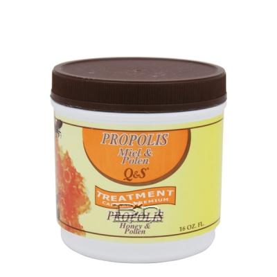 Q & S Propolis Honey & Pollen Treatment 16oz