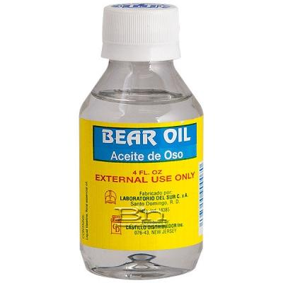 Castillo Bear Oil Aceite De Oso Hair Treatment 4oz