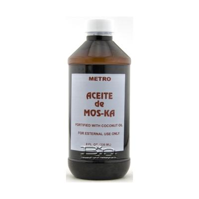 Metro Aceite De Mos-Ka with coconut Oil 8oz