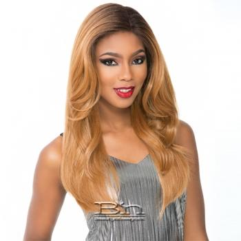 Sensationnel Cloud 9 Human Hair Blend Silk Based Swiss Lace Frontal Wig - CATHERINE