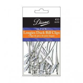 "Diane #20 Longies Duck Bill Clips 3-1/2"" 24PK"