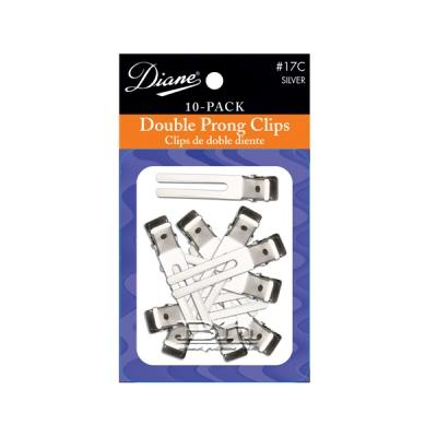 Diane #17C Double Prong Clips 1 3/4