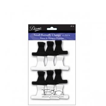 """Diane #D14 Small Butterfly Clamps 2-1/4"""" 12 PK"""