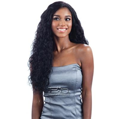 100% Unprocessed Brazilian Virgin Remy Hair - NAKED NATURE WET & WAVY NATURAL WAVE 7PCS (18/18/20/20/22/22 + Silk Base Closure)
