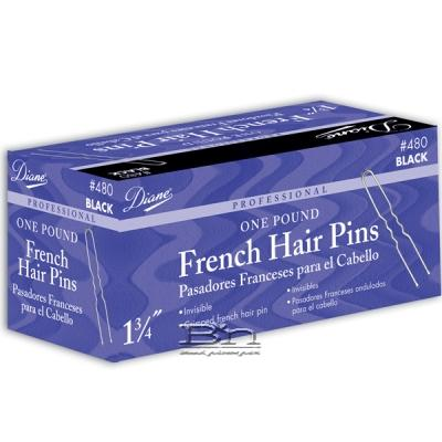 Diane #481 Professional French Hair Pin Bronze