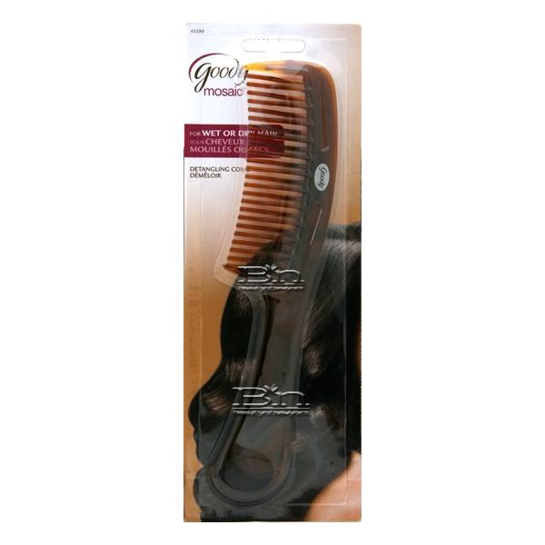 Goody #45599 Detangling Comb for wet or dry hair.