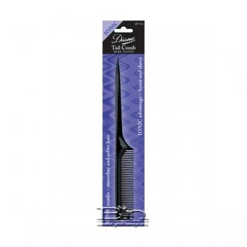 Diane #7115 Ionic Tail Comb Wide Tooth