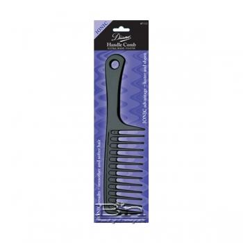 Diane #7113 IONIC Handle Comb Extra Wide Tooth