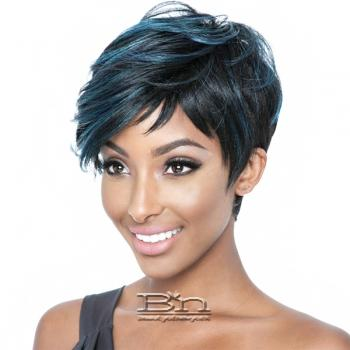 Mane Concept Brown Sugar Human Hair Blend Full Wig - BS124