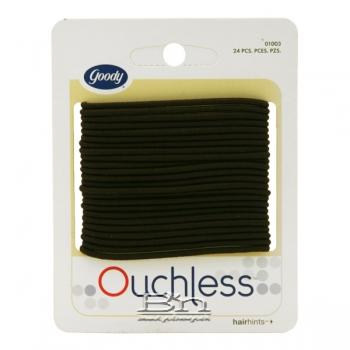 "Goody #01003 Ouchless Elas 2mm 5.5"" 24 PCS"