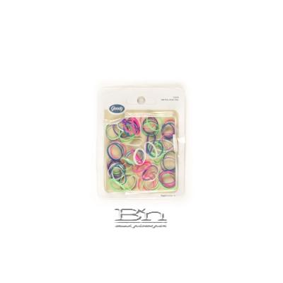 Goody #71292 Elastics Latex Mini Neon 75pcs