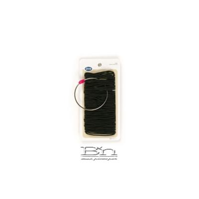 Goody #12319 Elastics Large Thin(Black) 100pcs