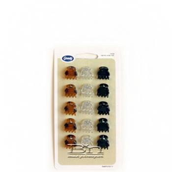 Goody #80473 Small Claw Clip 15pcs