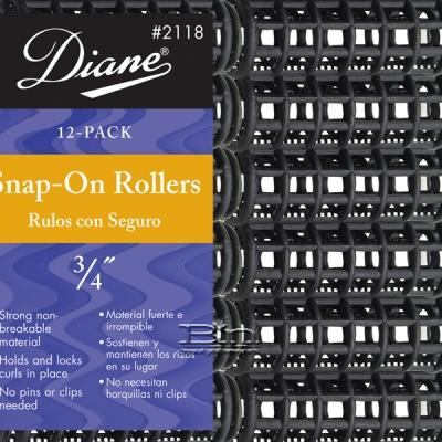 Diane #2118 Snap-On Rollers