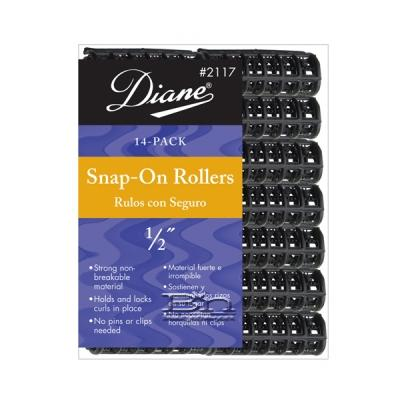 Diane #2117 Snap-On Rollers 1/2