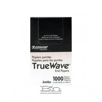 Graham True Wave End Papers - Jumbo 1000 Papers