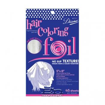 Diane #8302 Hair Coloring Foil 45-Pack(Large 5x12)