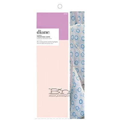 Diane #724 Frosting Cap Kit W/Needle 4-Pack