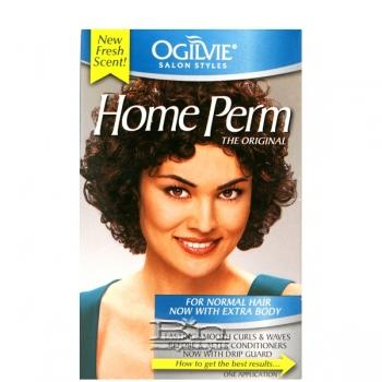 Ogilvie Home Perm Kit - Normal Hair Now With Extra Body