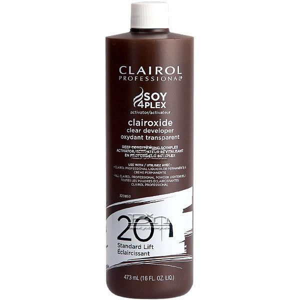Clairol Soy4Plex Clairoxide Clear developer 20 Gentle Lift 16oz