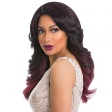 Sensationnel Synthetic Hair Empress Natural Curved Part Lace Front Wig - LOVELY (futura)