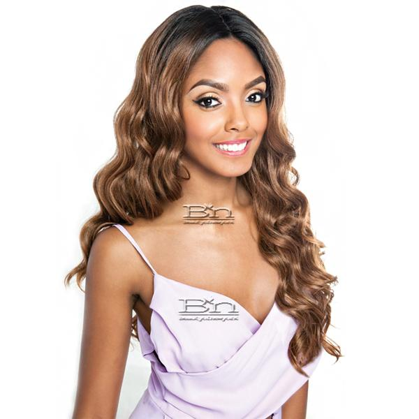 566a29b25513 Isis Brown Sugar Human Hair StyleMix Frontal Lace Front Wig - BSF03      beautyofnewyork.com