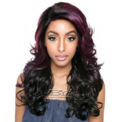 Isis Brown Sugar Human Hair Blend Glueless Lace Front Wig - BSG204 SOHO (Ear-to-Ear Elastic Band Wig)