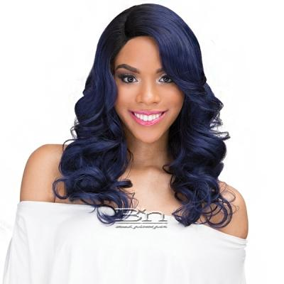 Janet Collection Human Hair Blend Brazilian Scent Lace Front Wig - ROSLIN