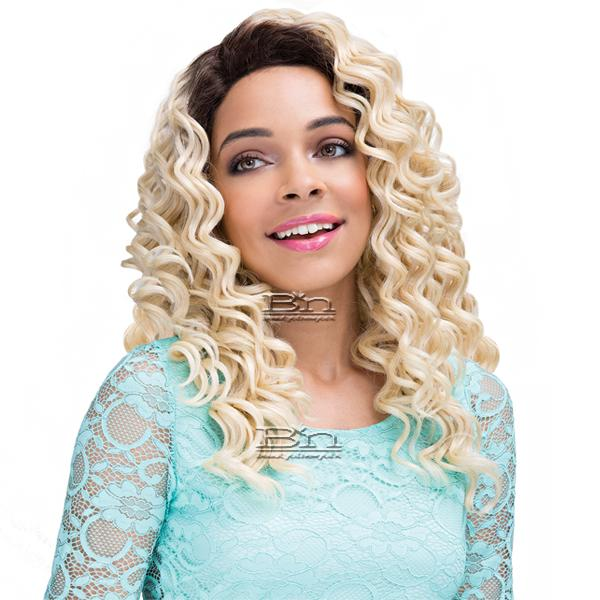 Janet Collection Human Hair Blend Brazilian Scent Lace Front Wig - TEVA