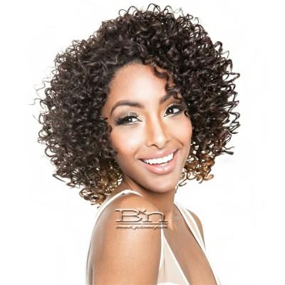 Isis Brown Sugar Human Hair Blend Perfect Edge Half Wig - PERFECT EDGE 07