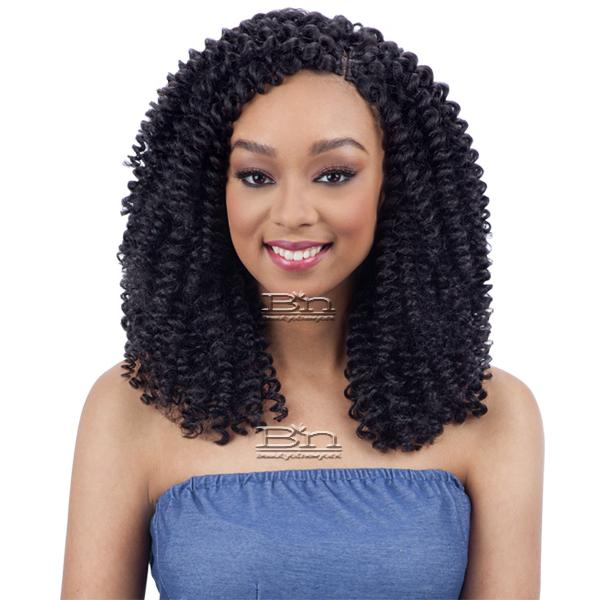 Milky Way Que Human Hair Blend Wand Curl Weave Popping Wand Curl