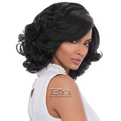 Harlem 125 Synthetic Hair Swiss Lace Reverse Deep Part Wig - LSD74