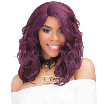 Janet Collection Human Hair Blend Brazilian Scent Pre Tweezed Part Wig - KESS