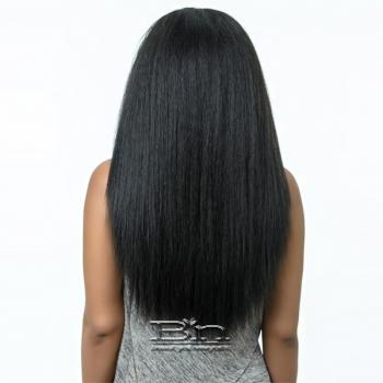Bohemian Brazilian Secret Human Hair Blend Half Wig - HBF DETROIT