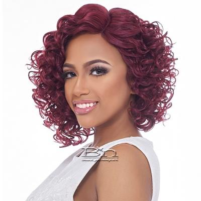 Harlem 125 Synthetic Hair Swiss Lace Reverse Deep Part Wig - LSD71