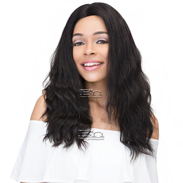 Janet Collection 100% Natural Virgin Remy Human Hair 360 Circular Frontal Lace Wig - 360 LACE NATURAL WIG 22
