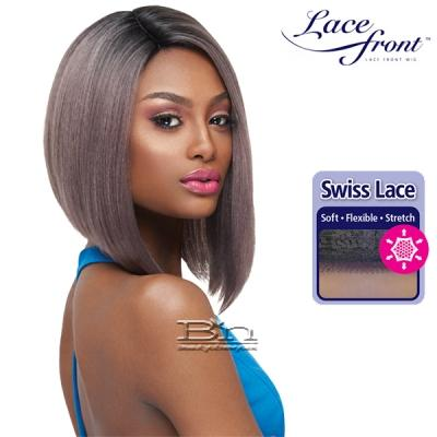 Outre Synthetic L-Part Swiss Lace Front Wig - ISSA (futura)