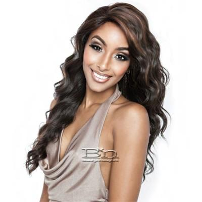 Isis Brown Sugar Human Hair Blend Whole Lace Front Wig - BS405