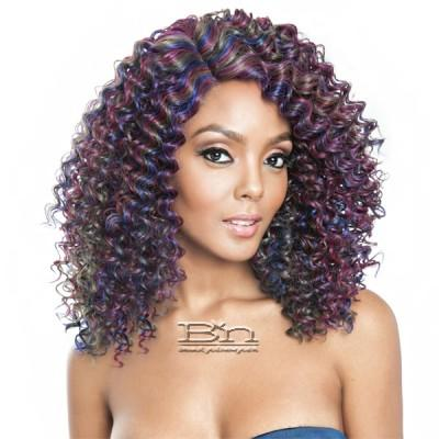 Isis Brown Sugar Human Hair Blend Glueless Lace Front Wig - BSG208 ROMA (Ear-to-Ear Elastic Band Wig)