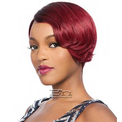 It's a Cap Weave 100% Human Hair Wig - KOKO